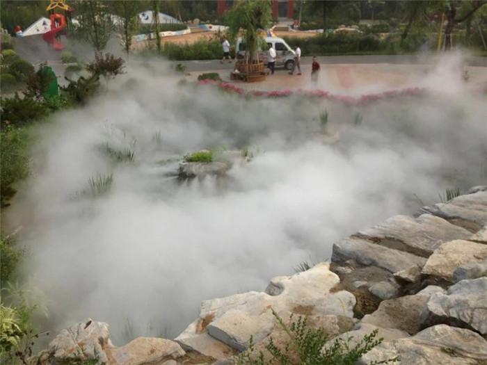 聊城景区人造雾设备批发 创银雾森供应