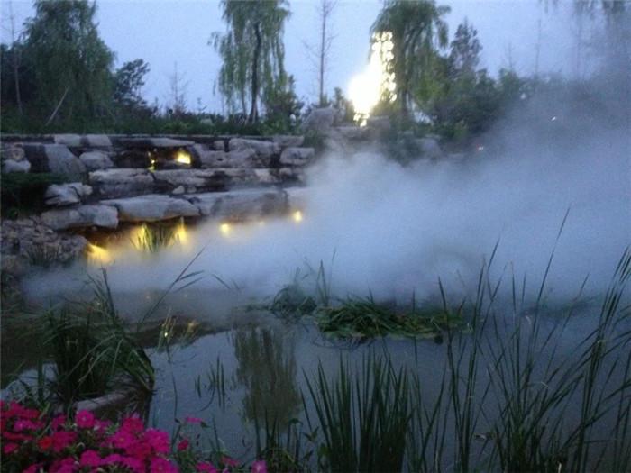 安阳水池人造雾设备 创银雾森供应