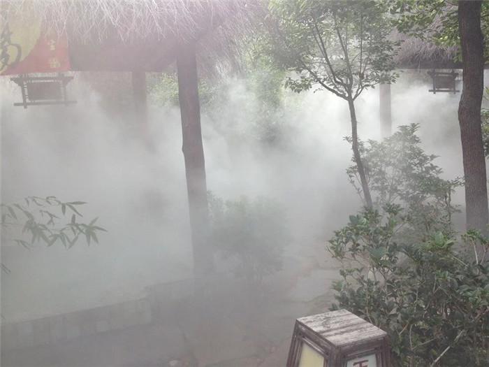 驻马店景区景观造雾工程 创银雾森供应