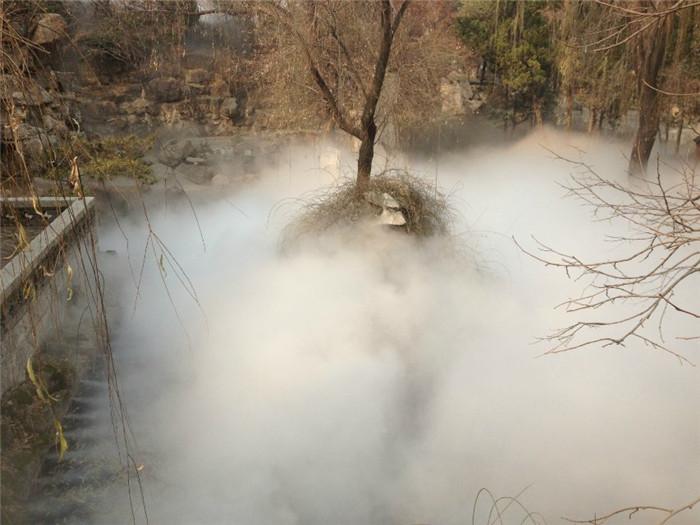菏泽小区雾森设备厂家 创银雾森供应