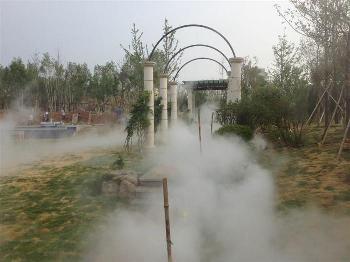 聊城人造雾设备批发 创银雾森供应