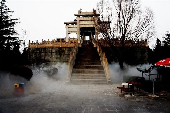 秦皇岛游乐场景观造雾 创银雾森供应