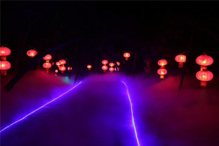 上海游乐场景观造雾工程 创银雾森供应