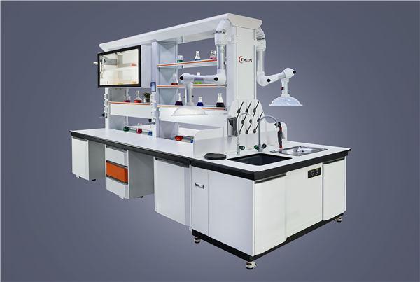 滨州耐酸碱实验台生产厂家 淄博豪迈实验室供应