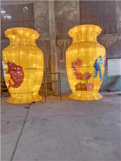 石家庄春节花灯制作「周村友艺花灯供应」