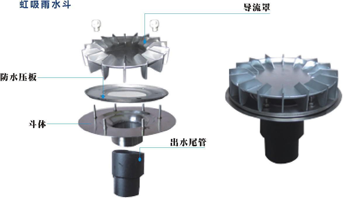 苏州屋面虹吸排水公司 服务为先 江苏鑫卓新型建材供应
