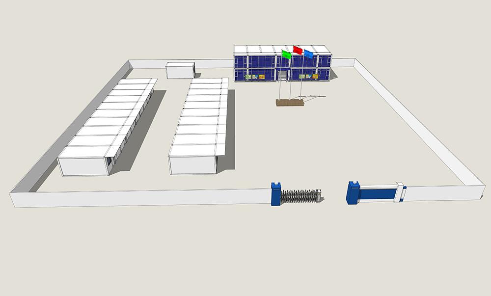 秦皇岛标准集装箱房屋 欢迎咨询「北京法利莱移动板房供应」