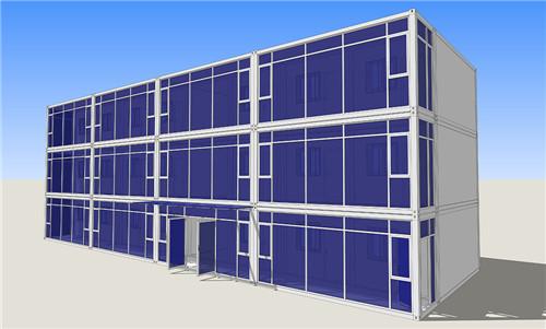 石家庄专用集装箱房子多少钱,集装箱房子