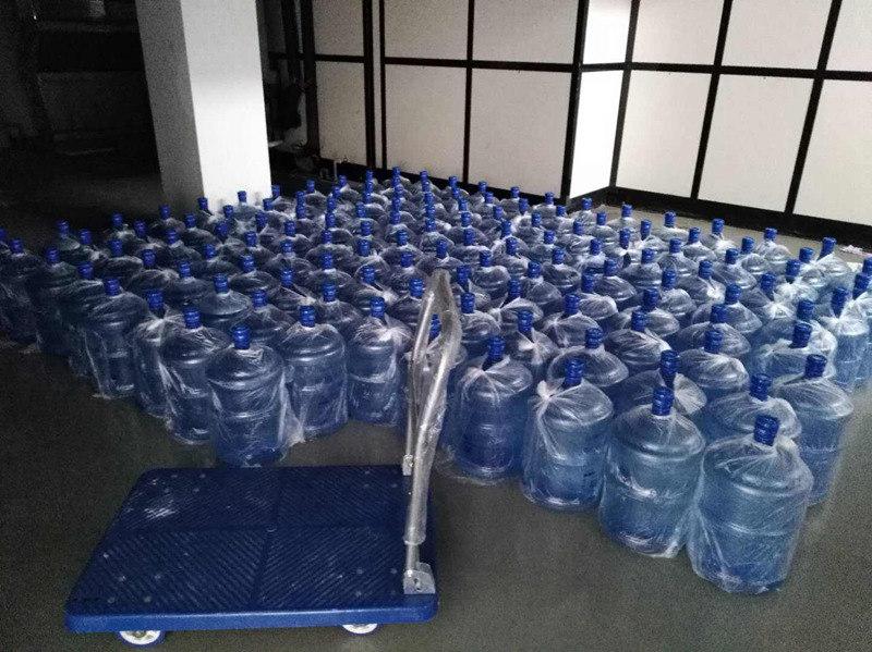 西安新城区品牌送水多少钱 西安市高新区咕咚桶装水配送供应