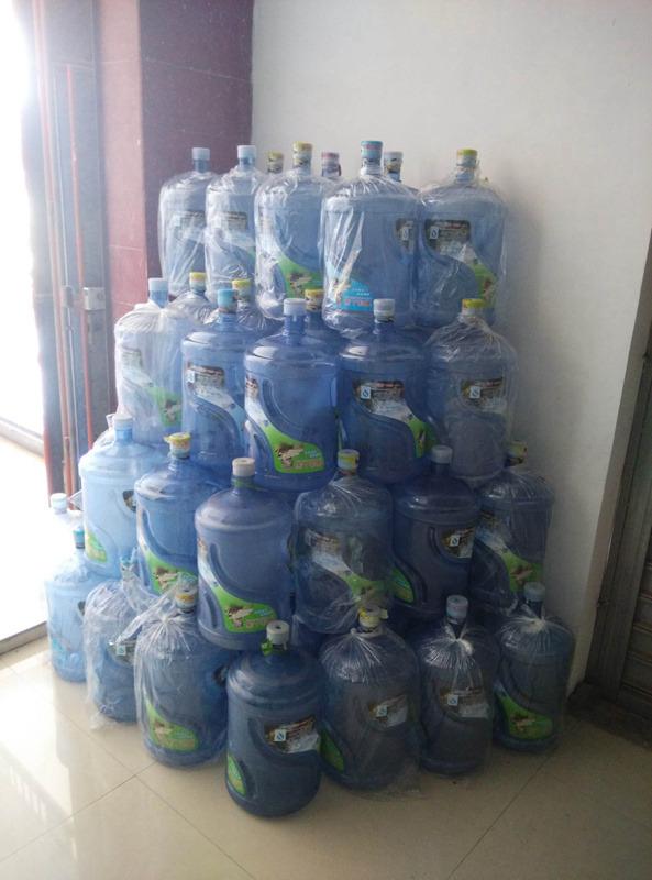 西安市矿泉水价格 欢迎来电 西安市高新区咕咚桶装水配送供应