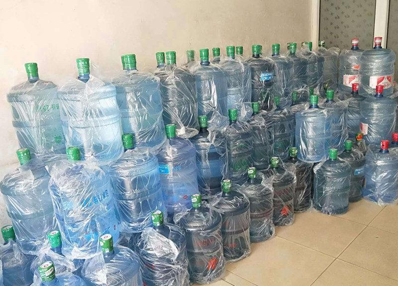 碑林区原装纯净水电话 欢迎来电 西安市高新区咕咚桶装水配送供应