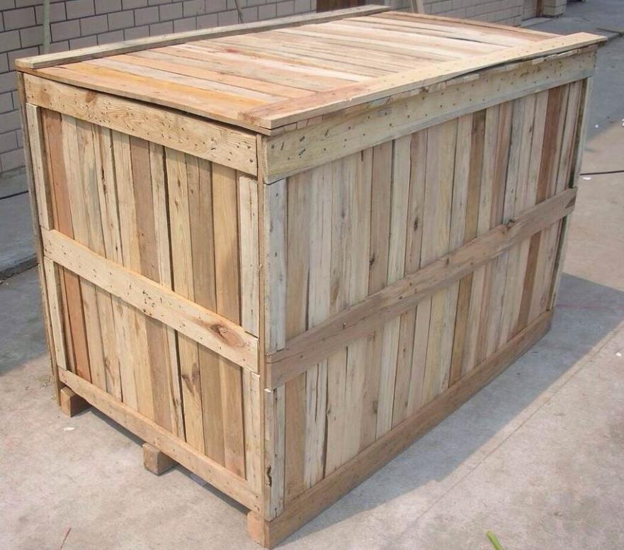 甘肃正规钢带包边木箱厂家 欢迎来电 陕西金囤实业供应