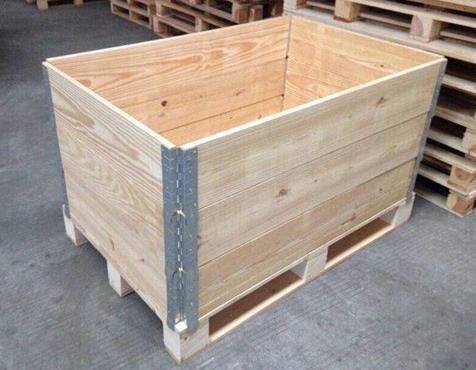 甘肃专业钢带包边木箱定做 来电咨询 陕西金囤实业供应