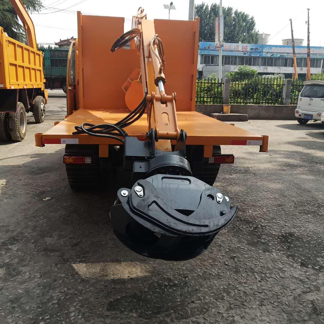 江苏履带抓木机厂家 客户至上 济宁市恒泰源工程机械供应