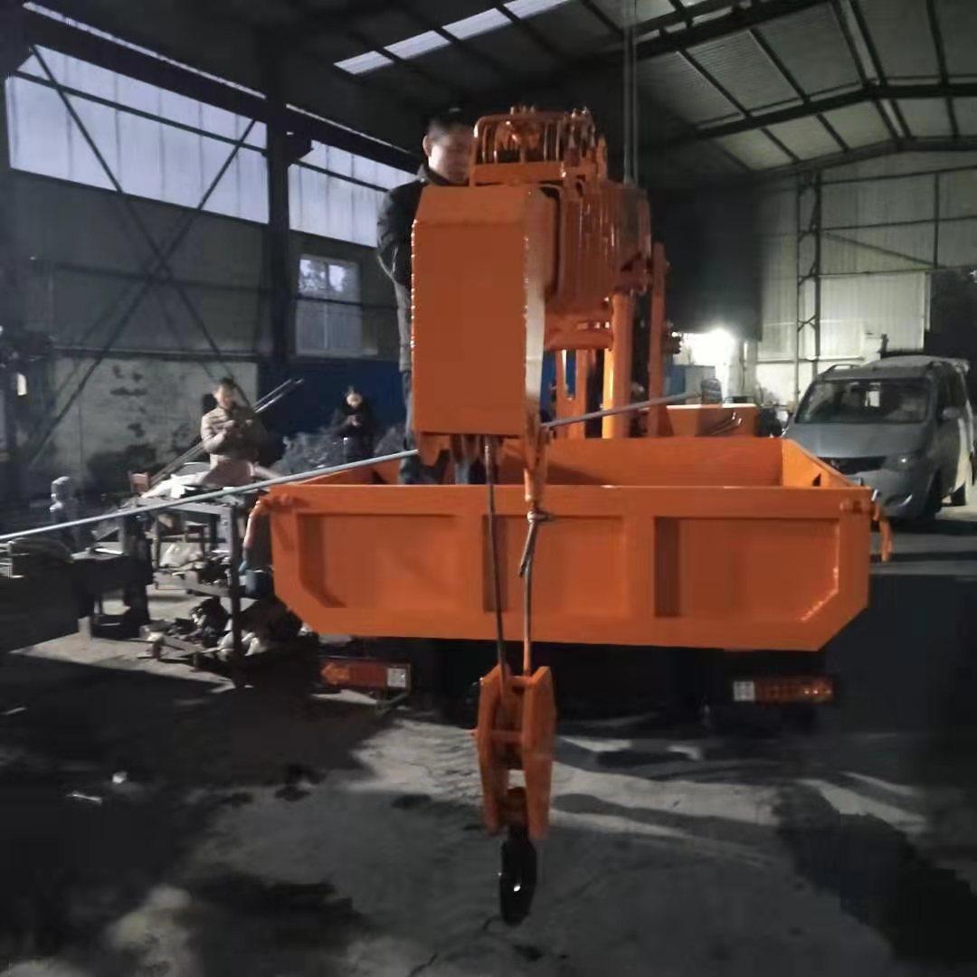 河北改装各种型号履带随车吊 值得信赖 济宁市恒泰源工程机械供应