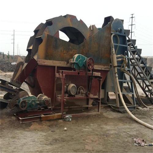 喀什原装轮式洗砂机价格便宜 三元机械供应