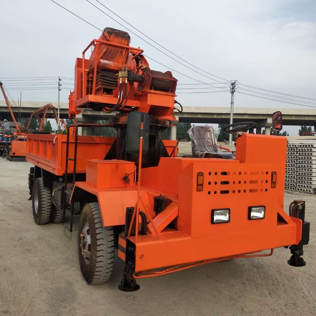 天津爬坡抓地性能好后驅隨車吊規格齊全 濟寧力征工程機械供應