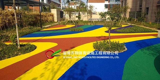濱州學校塑膠場地定制 齊翔體育供應
