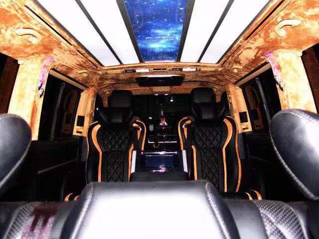 工业园区奔驰威霆款航空座椅定制 苏州正邦房车内饰供应