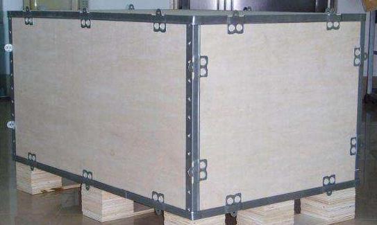 陕西正规钢带包边木箱实力厂家 推荐咨询 陕西金囤实业供应