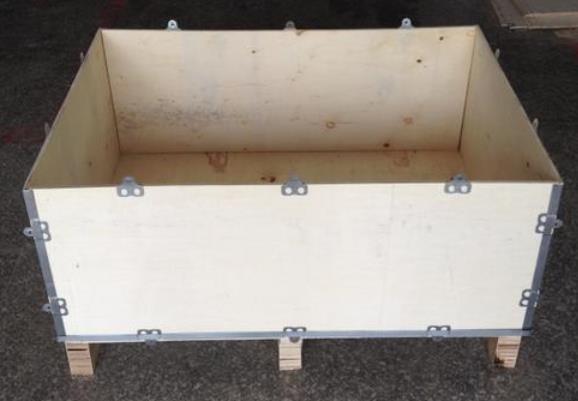 甘肃正规钢带包边木箱厂家供应 服务为先 陕西金囤实业供应