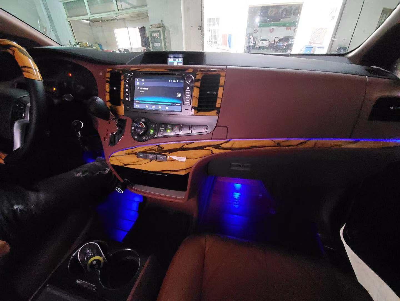 蘇州園區豐田塞納改裝定做「蘇州正邦房車內飾供應」圖片