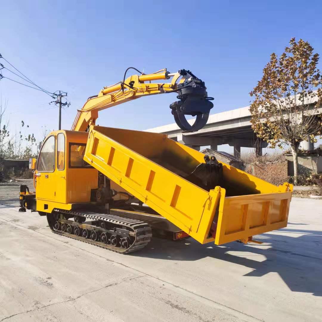 广西60履带抓木机 欢迎来电 济宁市恒泰源工程机械供应