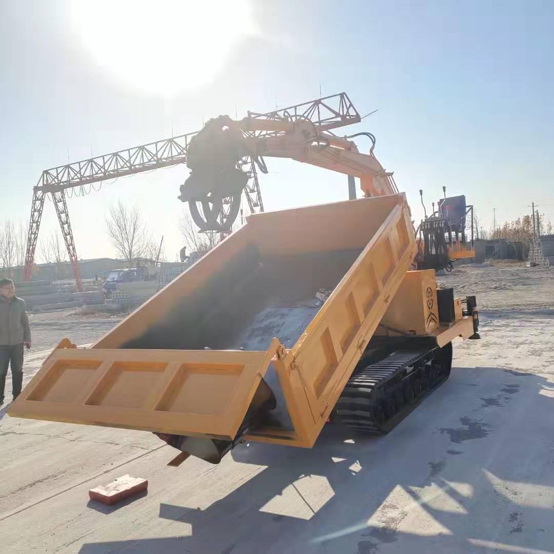 广西履带抓木机哪里卖 服务至上 济宁市恒泰源工程机械供应