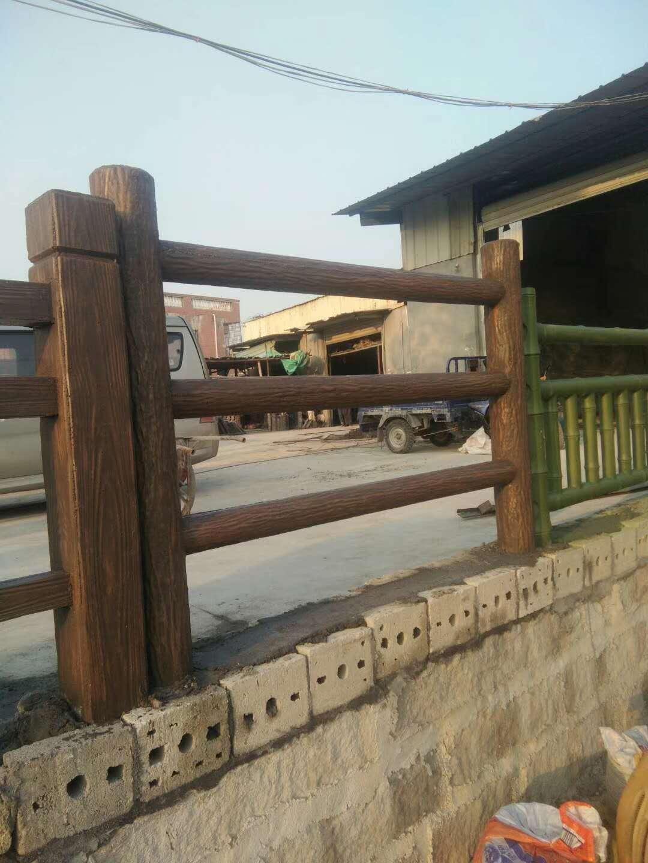 同安仿木护栏施工 厦门市长厦发装饰工程供应