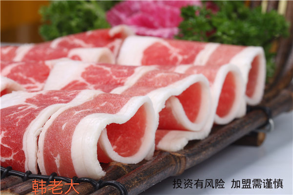 青岛好吃的韩式料理菜单 韩老大烤肉供应