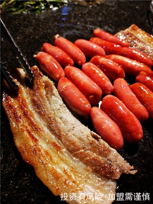 张店区创意料理烤肉菜单 韩老大烤肉供应