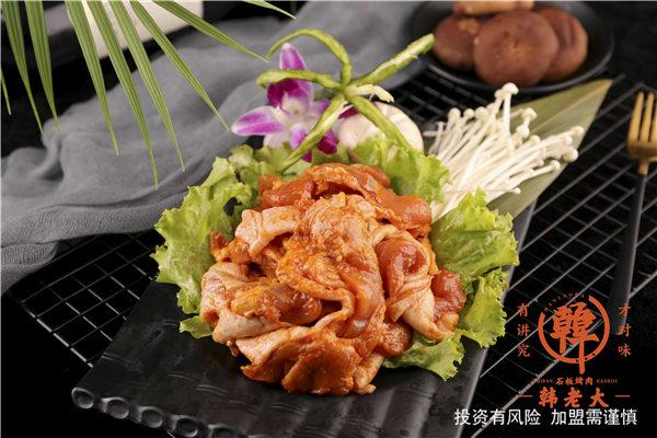 東營朝鮮族烤肉配方 韓老大烤肉供應