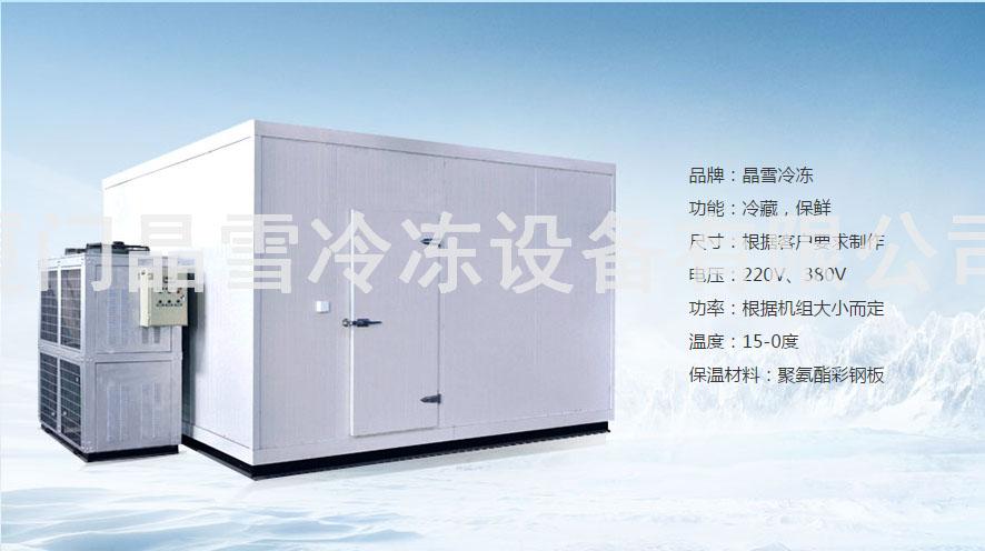莆田速冻冷库安装 欢迎来电 厦门晶雪冷冻设备供应