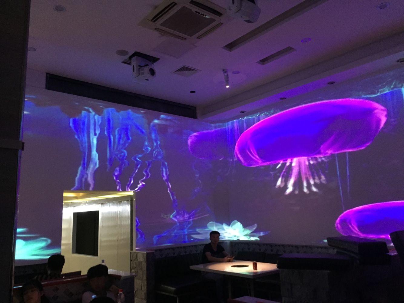 青海个性光影餐厅酒店,光影餐厅