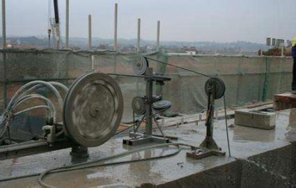 新疆挑檐切割哪里好 新疆安胜达拆除工程供应