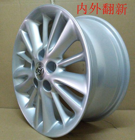昆山轮毂轮圈车轮划痕修复翻新能用吗「苏州轮博士汽车技术服务供应」