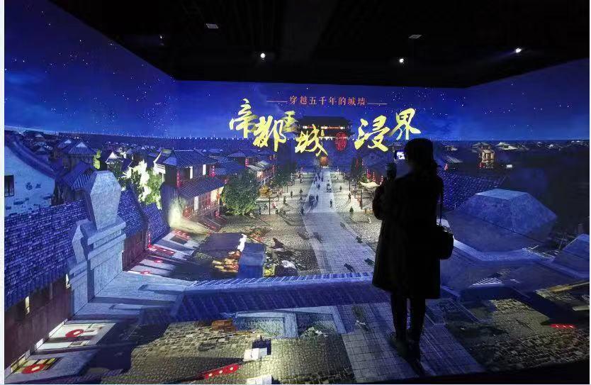 浙江酒店投影光影餐厅设计 上海音维电子科技供应
