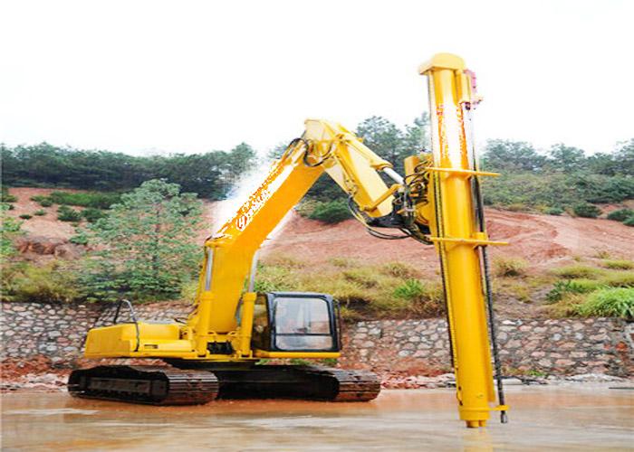 成都挖机改钻机厂家直销 贴心服务 昆明悍之骏工程机械供应