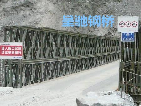 甘肃桥梁贝雷片采购 创新服务 江苏呈驰钢桥供应
