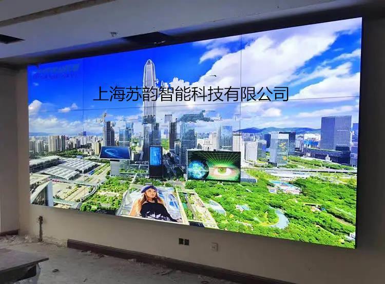 閔行區專用拼接大屏值得信賴 信息推薦「上海蘇韻智能科技供應」