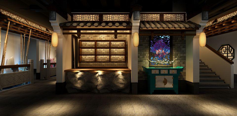 河南***中餐厅设计价格,中餐厅设计