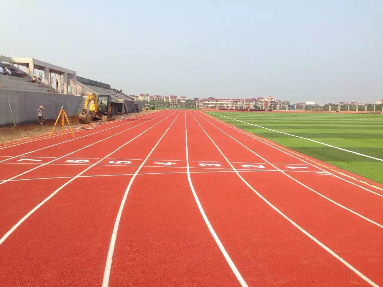 北京混合型塑胶跑道厂 福建健业体育设施工程供应