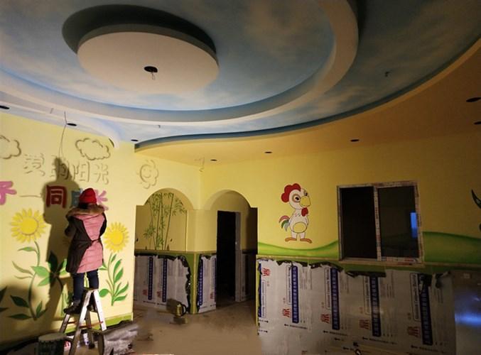 新郑墙绘变色 信息推荐 河南文彩装饰工程供应