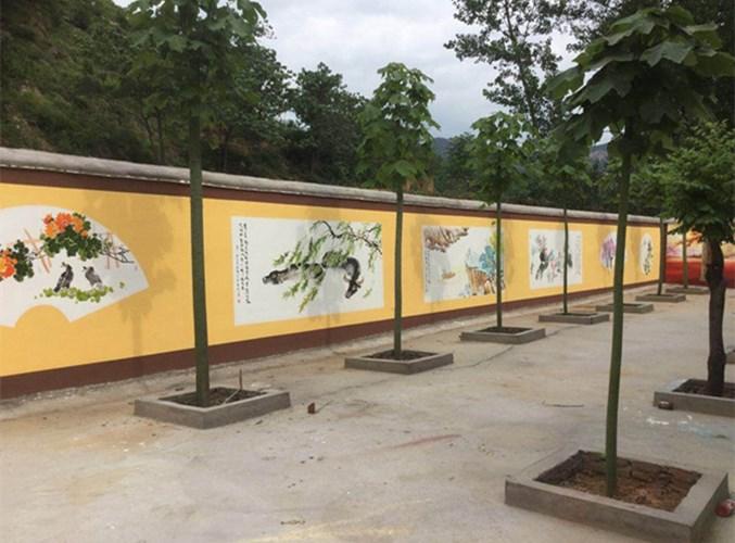 上街区涂鸦墙绘 信息推荐 河南文彩装饰工程供应
