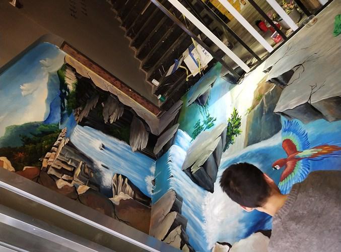 青海校园壁画公司 值得信赖 河南文彩装饰工程供应