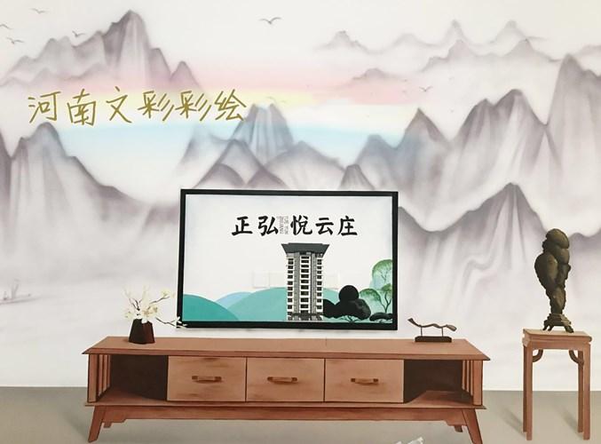 管城回族区墙体彩绘公司,彩绘