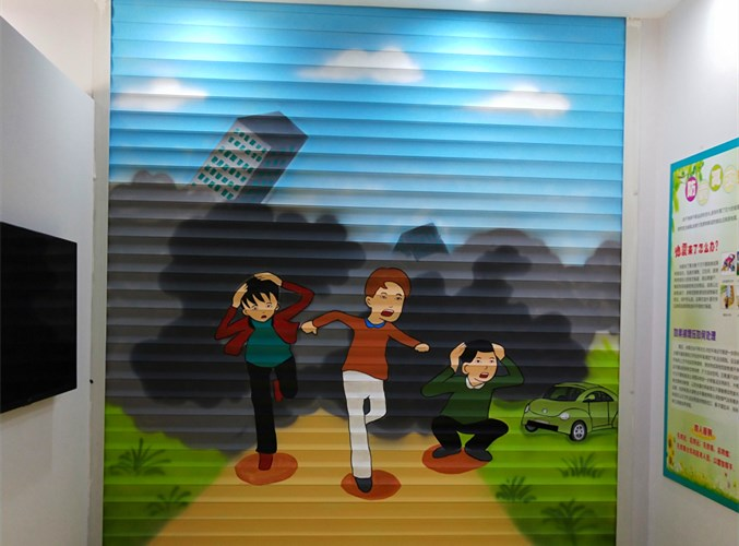 上街区手绘涂鸦 信息推荐 河南文彩装饰工程供应