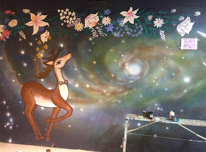 郑州涂鸦公司哪家好 值得信赖 河南文彩装饰工程供应