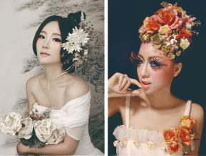 柳州化妆学校哪里有 真诚推荐 东方傲才美容美发培训供应