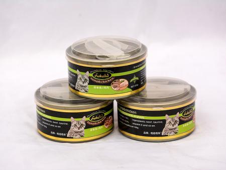 西安寵物貓罐頭哪個牌子好 誠信經營「山東晨宇寵物食品供應」
